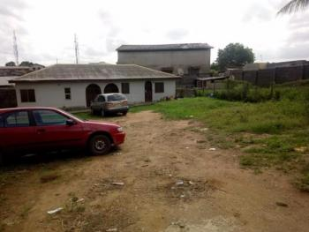 a Well Built 2 Units of 2 Bedroom Flat with 3 Shops All on 800sqm of Land, Ilamoshe Estate, Oke Afa, Isolo, Lagos, Detached Bungalow for Sale