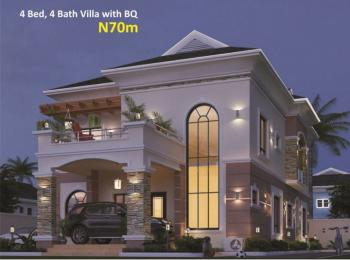 Luxury 4 Bedroom  Villa with Bq, Amen Estate Phase 2, Eleko Beach Road, Ibeju Lekki, Lagos, Detached Duplex for Sale