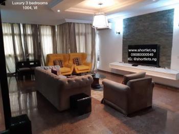 Luxury 3 Bedroom Duplex  in 1004, Victoria Island Extension, Victoria Island (vi), Lagos, Flat Short Let