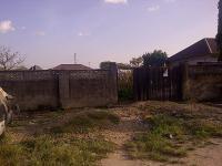 1075 Square Metre Fenced Plot, , Kado, Abuja, Land For Sale