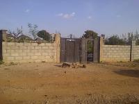 2000 Square Metre Fenced Plot, , Kado, Abuja, Land For Sale