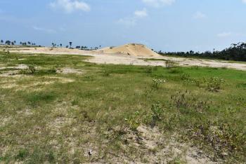 Ocean Front Plot of Land, Located at Apaki Before Lacampaigne Tropicana Beach Resort Ibeju-lekki Lagos Nigeria, Okunraiye, Ibeju Lekki, Lagos, Mixed-use Land for Sale