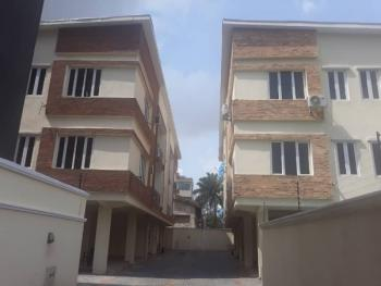 3 Bedroom Flat All Ensuite with Fitted Kitchen and Bq in a Serviced Mini Estate with Treated Swimming Pool and Ample Parking Space, Off Queens Drive, Old Ikoyi, Ikoyi, Lagos, House for Rent