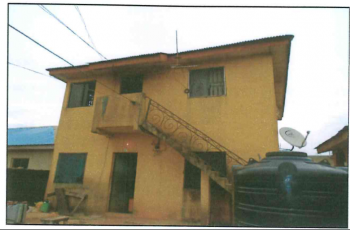 a Storey Building Consisting of 2no of 2 Bedroom Flats and 2 Shops, Prince Ovie Austine, Ipakodo, Ikorodu, Lagos, Block of Flats for Sale