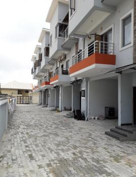 Newly Built 4 Bedroom Townhouse + Bq, Osapa, Lekki, Lagos, Terraced Duplex for Sale