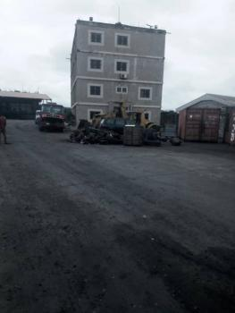3 Acres of Land Well Fenced, Gate House, 3 Floors Office Complex, Well Concretized Floors, Industrial Estate, Amuwo Odofin, Isolo, Lagos, Industrial Land for Sale