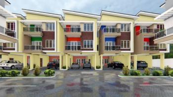 One Terraced Unit with 3 Floors, Ilupeju Estate, Ilupeju, Lagos, Terraced Duplex for Sale