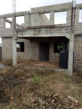Uncompleted Duplex of 5 Bedrooms, Near Navy Schools,, Atan Ota, Ado-odo/ota, Ogun, Detached Duplex for Sale