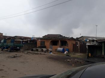 Plot of Land Measuring 650sqm + Decked House, Apata Street Off Oke Koto, Agege, Lagos, Residential Land for Sale
