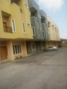 Service 7 Units of 5 Bedrooms Duplex, Adeniyi Jones, Ikeja, Lagos, Terraced Duplex for Sale