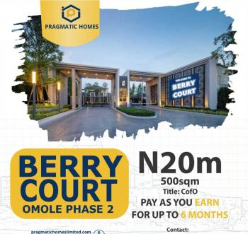 Berry Court Phase 2 Extension, Omole Phase 2, Ikeja, Lagos, Residential Land for Sale