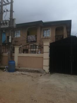 a Luxury 1 Bedroom Flat Upstairs,  Quiet and Spacious Compound with Floor Tiles and Modern Amenities and Fittings on a Tarred Road, Off Oyatogun, Street, Oke-ira, Ogba, Ikeja, Lagos, Mini Flat for Rent