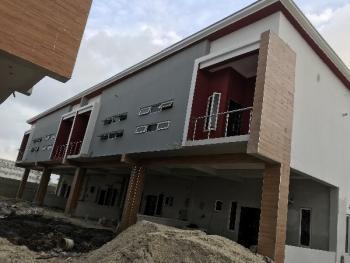 Contemporary 4 Bedroom Terrace Duplex, Opposite Chevron, Lafiaji, Lekki, Lagos, Terraced Duplex for Sale