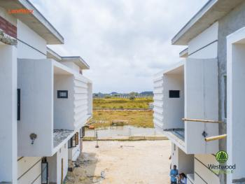 Westwood Nooks, Secure a Pay and Pack in 2 Terraced Apartment in Developing Area with Governors Consent in Sangotedo Lagos, Novare Mall, Close to Prominent Lekki Conversation Center and Green Spring School Sangotedo, Ibeju Lekki, Lagos, Terraced Bungalow for Sale