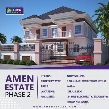 Amen Estate Phase 2., Ibeju Lekki, Lagos, Semi-detached Duplex for Sale