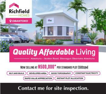 Plots of Land, Obantako, Abeokuta South, Ogun, Residential Land for Sale
