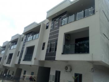 Brand New Spacious 5 Bedroom Terrace Duplex with 1 Room Bq, Guzape District, Abuja, Terraced Duplex for Sale