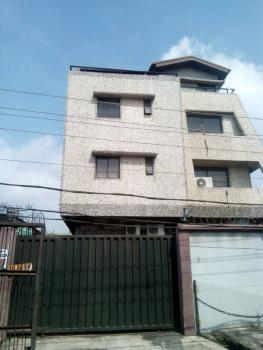 a Purpose Built 3-storey Commercial/office Building Offering About 500sqm   Space, Unity Road, Off Toyin Street, Allen, Ikeja, Lagos, Office Space for Rent