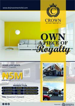 Crown Apartment, Sangotedo, Ajah, Lagos, Terraced Bungalow for Sale
