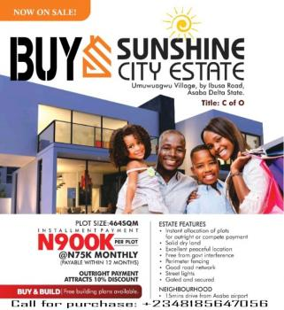 Buy Cheapest Land for Sale in Asaba (c of O Land), Delta State., Asaba, Delta, Mixed-use Land for Sale