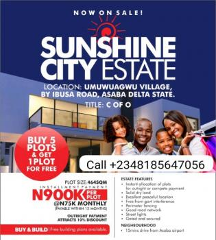C of O Land for Sale in Asaba, Delta State (buy 5 Get 1 Extra Free)., Asaba, Delta, Mixed-use Land for Sale