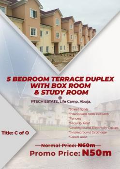 5 Bedroom Terraced Duple, Life Camp, Gwarinpa, Abuja, Terraced Duplex for Sale