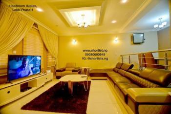 4 Bedroom Luxury Duplex, Lekki Phase 1, Lekki, Lagos, Detached Duplex Short Let