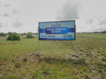 Plot of Land 600 Sqm - Summit Place, Summit Place, Oshoroko, Ibeju Lekki, Lagos, Residential Land for Sale