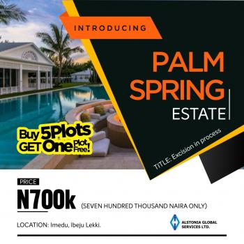 Land, Palm Springs Estate, Okun Imedu, Ibeju Lekki, Lagos, Residential Land for Sale