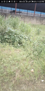 Almost Half Plot of Land By Road Side, Pen Cinema, Agege, Lagos, Commercial Land for Sale