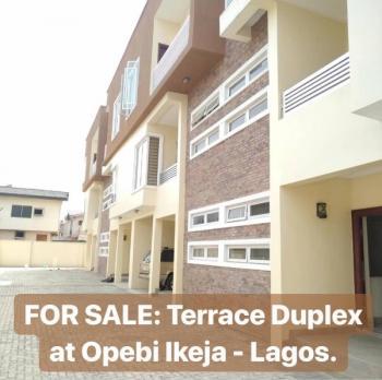 4 Bedroom Duplex, Opebi, Ikeja, Lagos, Terraced Duplex for Sale