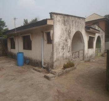 Uncompleted Structure with a Setback Bungalow Sitting on 648sqm Land, Abule Egba, Agege, Lagos, Detached Bungalow for Sale