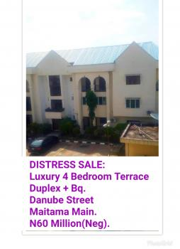 Luxury 4 Bedroom Terrace  Duplex + Bq. Danube Stree, Danube Street., Maitama District, Abuja, Terraced Duplex for Sale