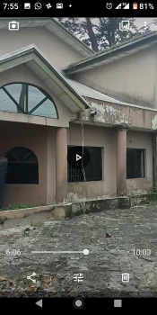 Six Bedrooms Fully Detached Duplex Plus Full Plot of Vacant Land  in an Estate at Okera Bus Stop Off Ado Badore Road, Ajah Lekki, Ana Estate, Off Ado Road, Okera, Ajah Lekki, Ado, Ajah, Lagos, Detached Duplex for Sale