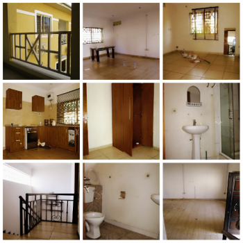 Spacious 2 Bedroom Duplex with a Standby Generator, Lekki Phase 1, Lekki, Lagos, Terraced Duplex for Rent