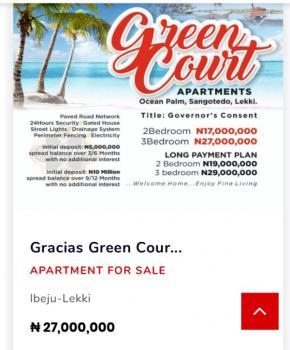 3 Bedroom Terrace Duplex + Bq, Sangotedo, Ajah, Lagos, Terraced Duplex for Sale