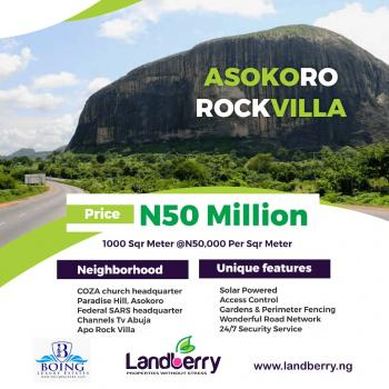 Residential Land, Asokoro District, Abuja, Residential Land for Sale