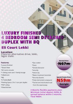 Finished 4 Bedroom Detached Duplex, Vgc, Lekki, Lagos, Detached Duplex for Sale