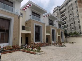 Fantastic Luxury 4 Bedroom Terraced Duplex with Bq , Swimming Pool ,gym and 24 Hours Power, Phase1, Osborne, Ikoyi, Lagos, Terraced Duplex for Rent