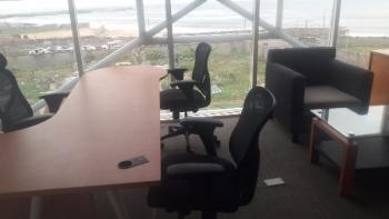 Well Finished, Furnished and Serviced Private Office, By Pinnacle Filling Station, Lekki Phase 1, Lekki, Lagos, Office Space for Rent