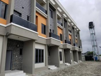 Brand New 4-bedroom Terrace House with Bq, Off Ogombo Road, Abraham Adesanya Estate, Ajah, Lagos, Terraced Duplex for Sale