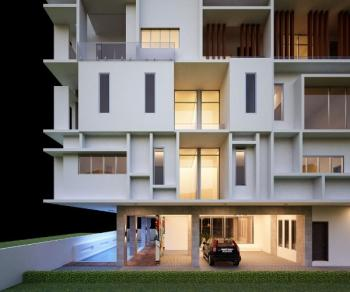 a Block of 3 Bedrooms Luxury and Contemporary Styled Apartments, Ikate Elegushi, Lekki, Lagos, House for Sale