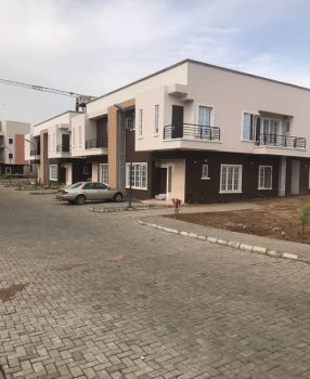 4 Bedroom Semi Detached Duplex with Bq, Utako, Abuja, Semi-detached Duplex for Sale