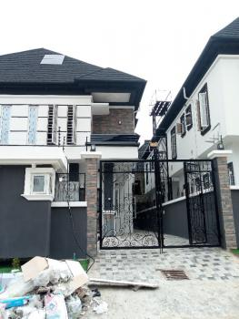 Exquisitely Finished 4 Bedroom Semi Detached Duplex with a Room Bq, Oral Estate Immediately After The Second Toll Gate, Lekki Expressway, Lekki, Lagos, Semi-detached Duplex for Sale