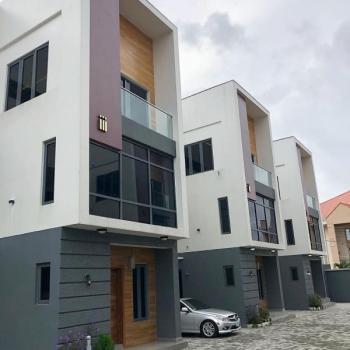 Luxury Detached 4 Bedroom Duplex with Bq in a Serviced Mini Estate, Agungi, Lekki, Lagos, Detached Duplex for Sale