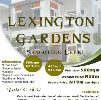 Residential Ready to Build and Dry Land, Sangotedo, Ajah, Lagos, Residential Land for Sale