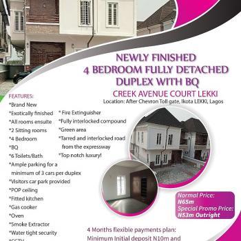 Newly 4 Bedrooms Semi Detached Duplex, Ikota Villa Estate, Lekki, Lagos, Semi-detached Duplex for Sale