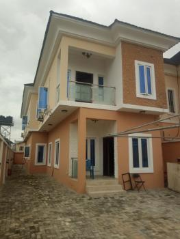 Typical Family Home 4 Bedroom Duplex, Canal West Estate, Osapa, Lekki, Lagos, Semi-detached Duplex for Rent