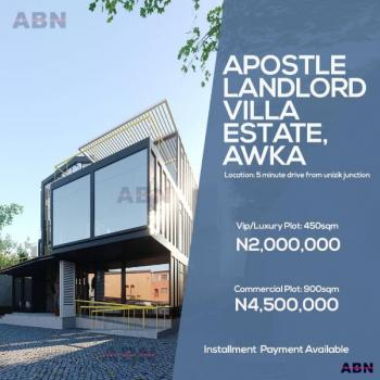 Apostle Landlord Villa Estate Land, Awka, Anambra, Residential Land for Sale