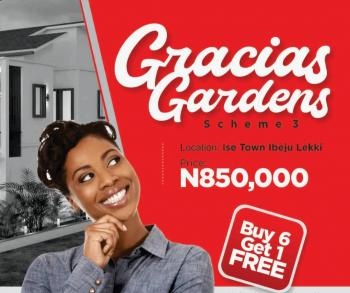 Gracias Gardens Scheme 3, Folu Ise, Ibeju Lekki, Lagos, Residential Land for Sale